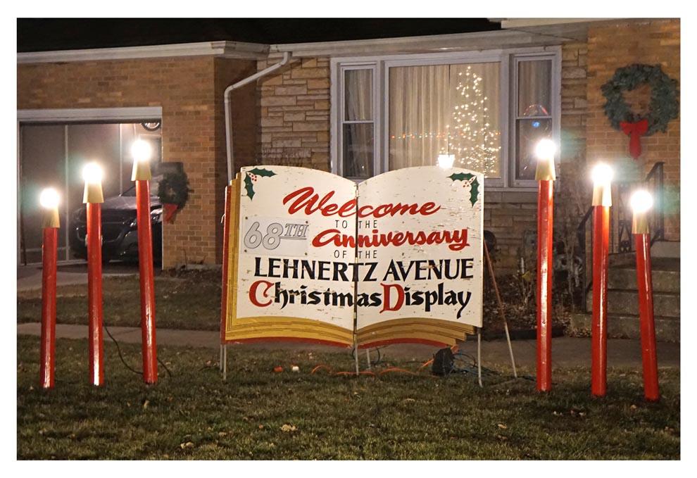 Lehnertz Avenue Christmas Display 2020 Lehnertz Avenue Christmas Display 2019 – The Voice