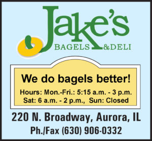 Jake's Bagels and Deli in Aurora, IL