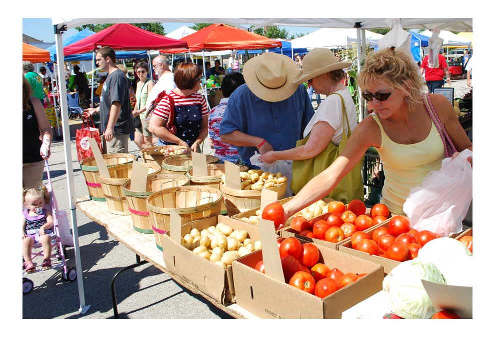 Aurora's Farmers Market is moving to Water Street Mall in downtown in 2019